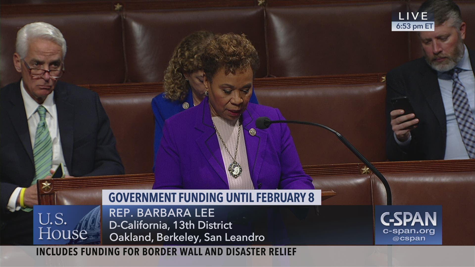 e77ba8d7d Congresswoman Barbara Lee Floor Speech on Shutdown and Border Wall 12.20.18