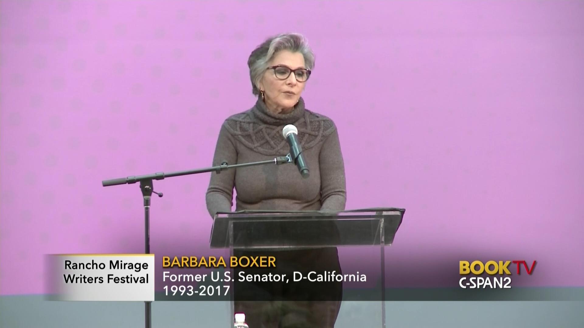 Barbara Boxer Health Care