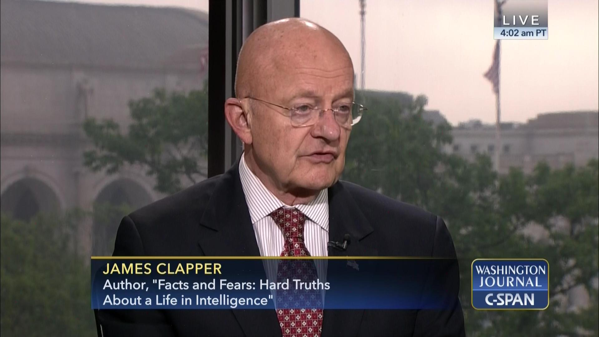 James Clapper, CIA, Deep State