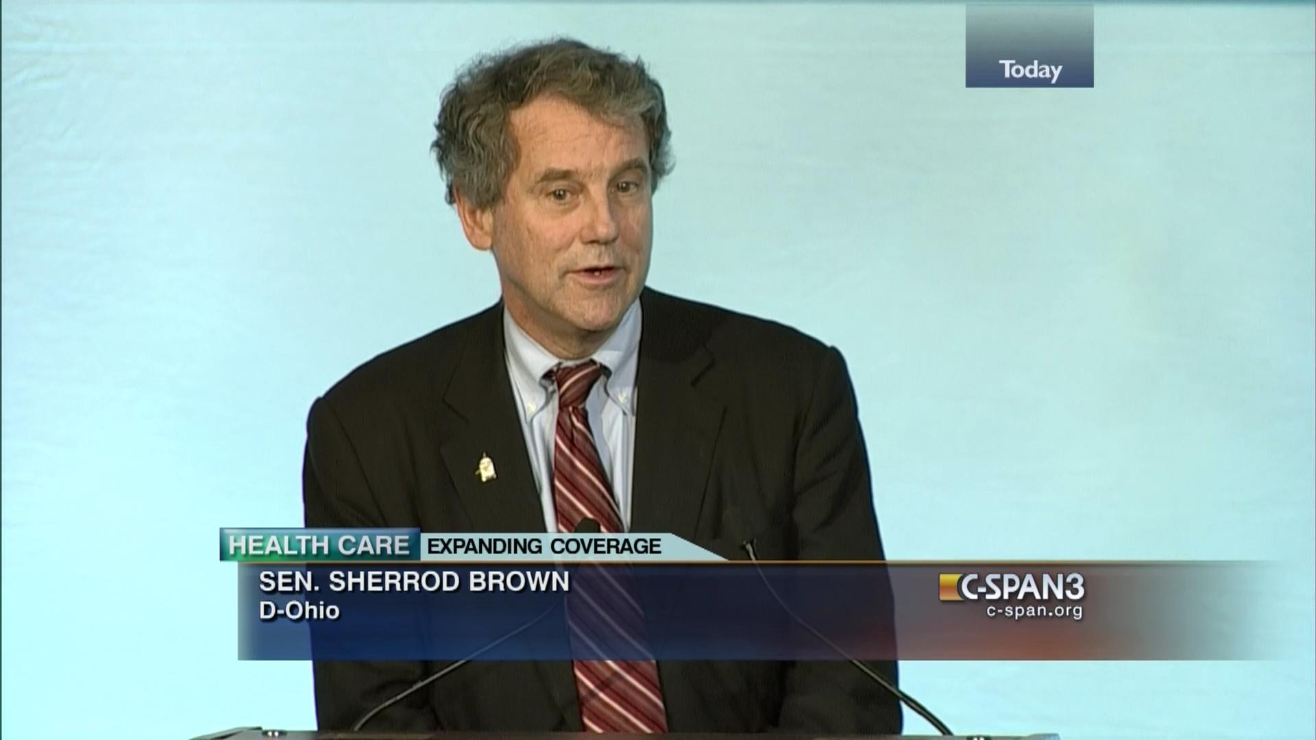 Image result for photo of SHERROD BROWN