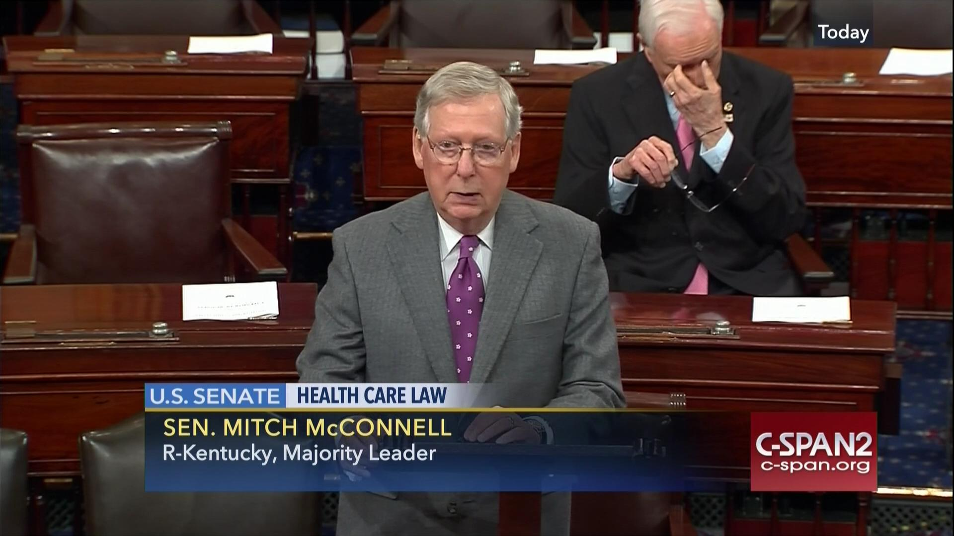 senator mcconnell 115th congress goals, jan 4 2017 | c-span