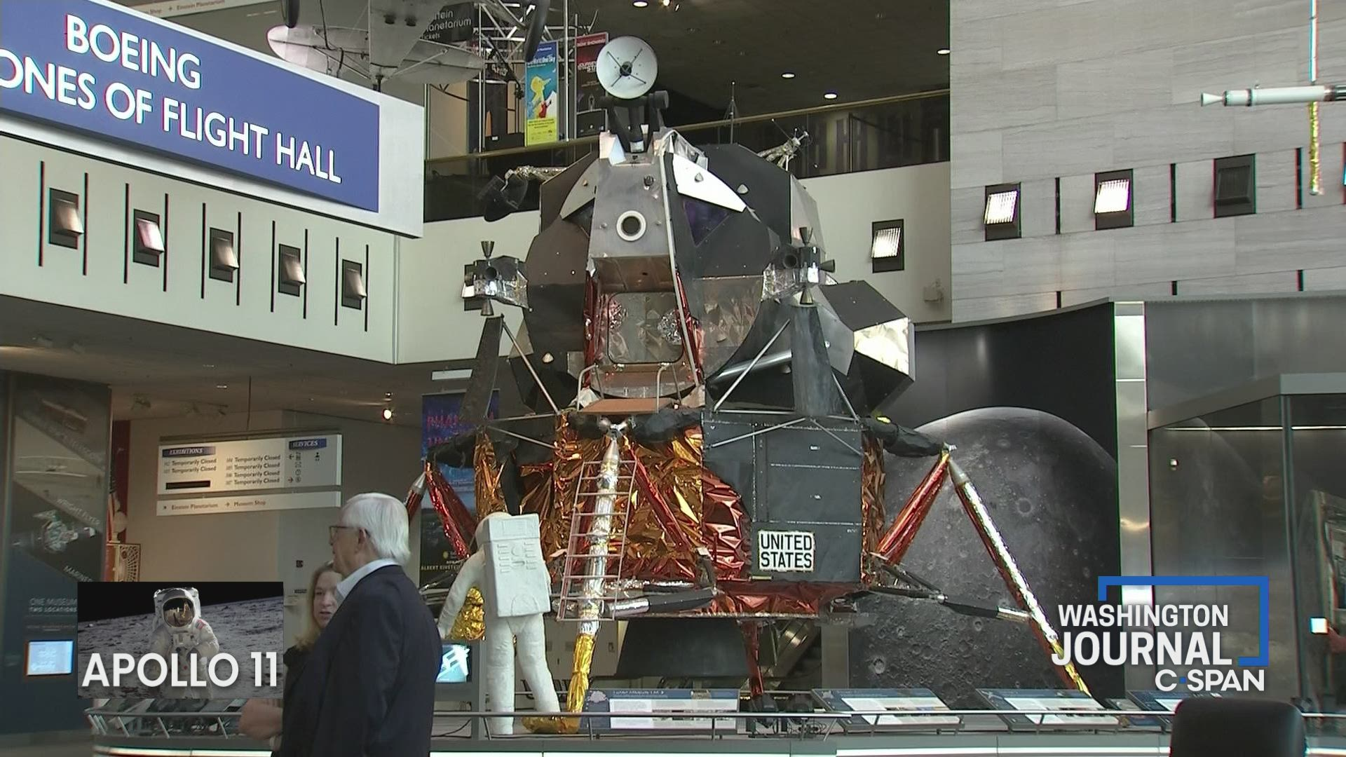 "Apollo 11 50th Anniversary Patch Large 6/"" Souvenir Version"