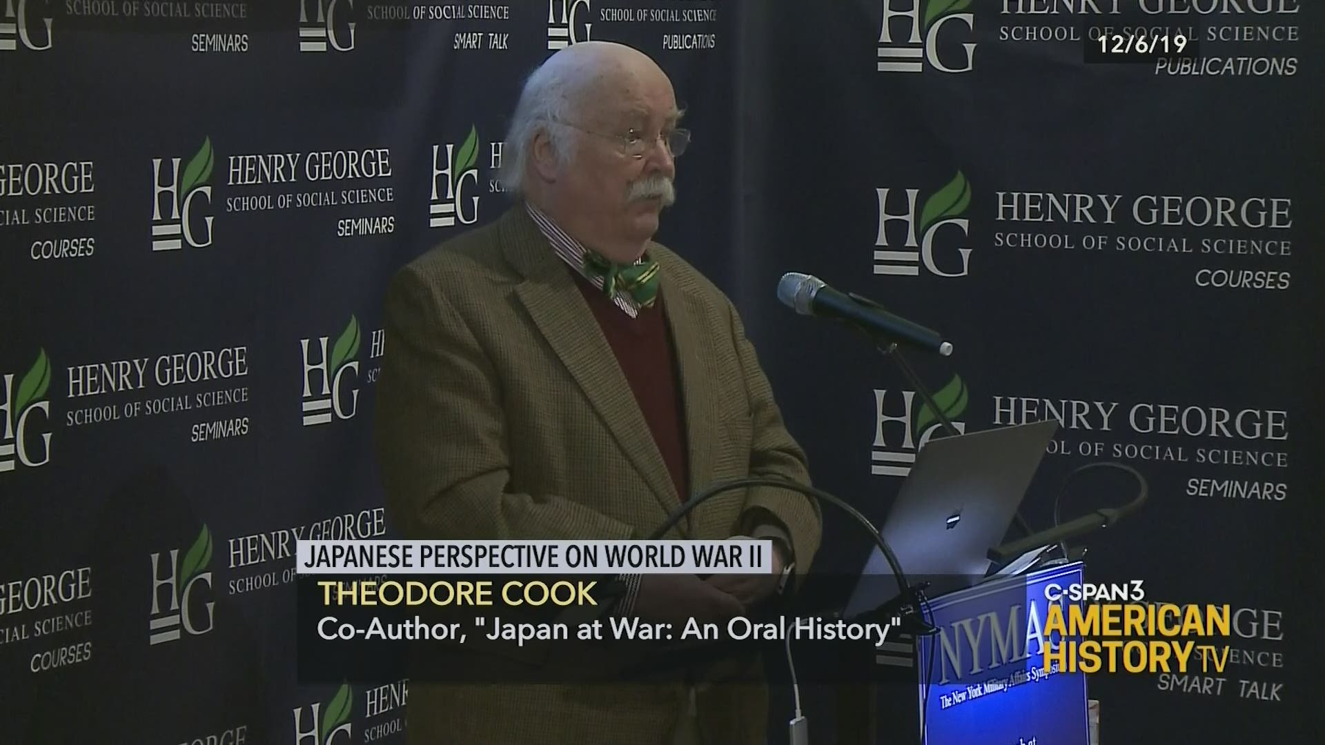 Japanese Perspective On World War Ii C Span Org
