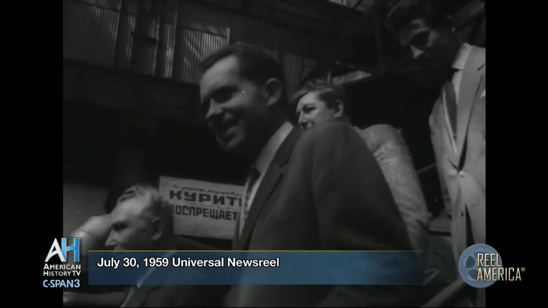Nixon-Khrushchev Kitchen Debate, Jul 24 1959   Video   C-SPAN.org