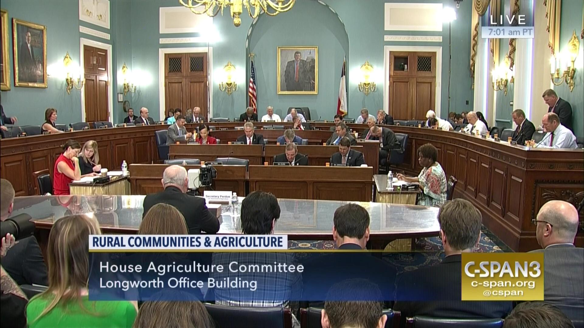 Agri cultures project logo duckdog design - Prayer Opens Agriculture Hearing With Sec Perdue