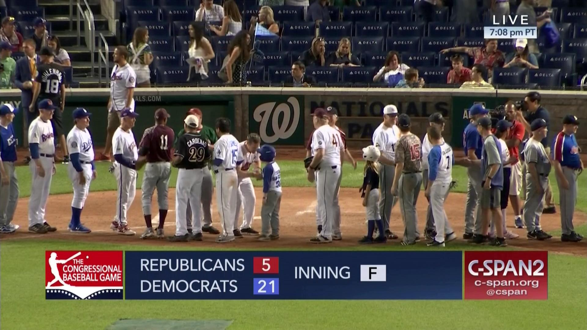 01f50fbea6 2018 Congressional Baseball Game