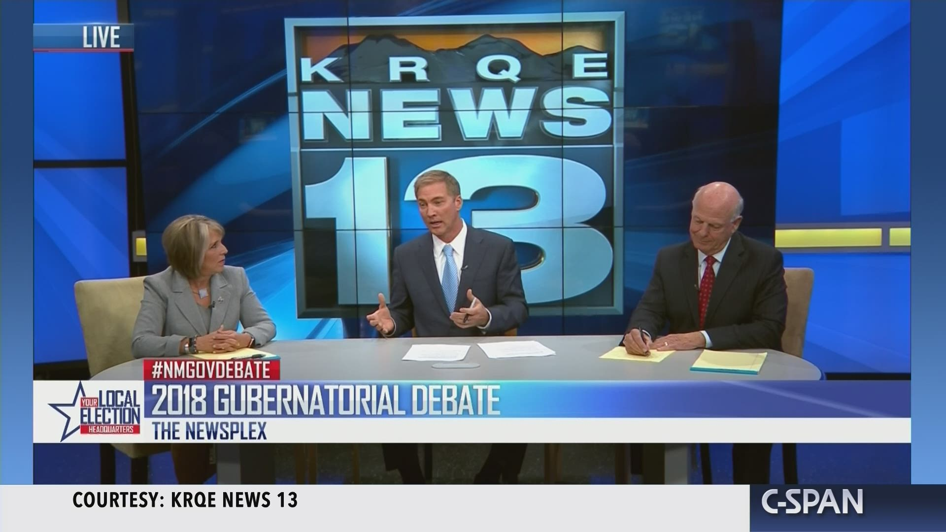 New Mexico Gubernatorial Debate