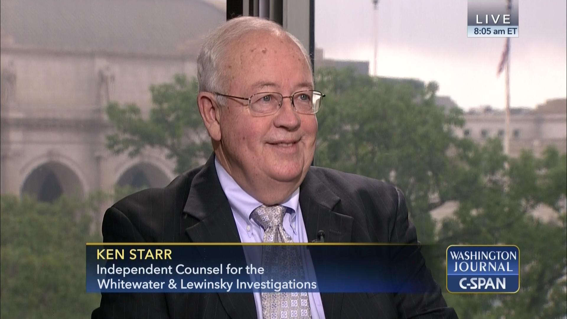 98a75e29c8 Ken Starr on the Mueller Investigation