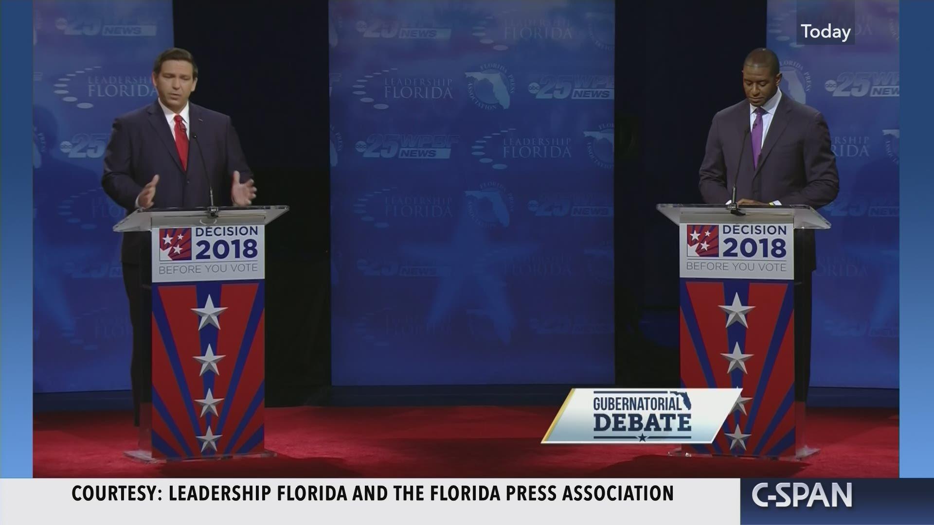 Florida Governor Is Signing K 12 Public >> Florida Gubernatorial Debate C Span Org