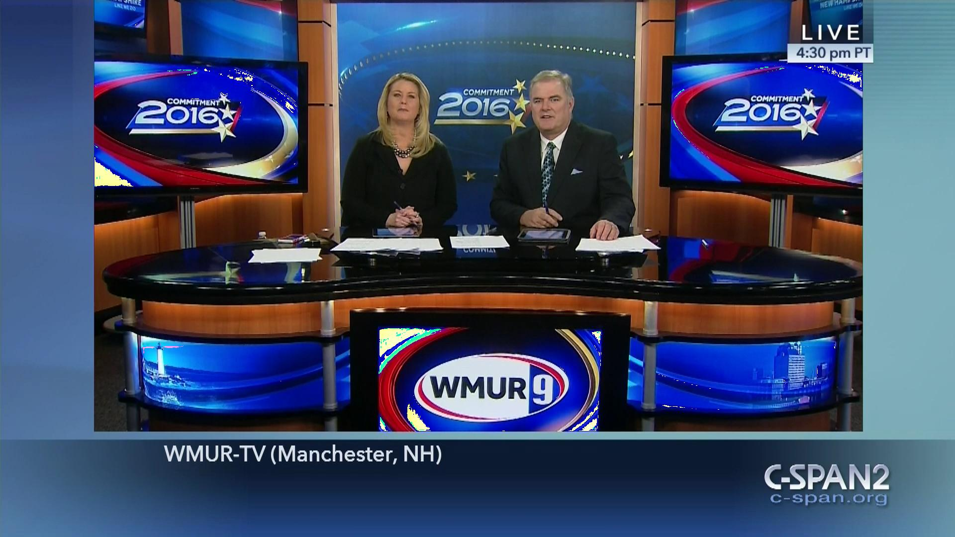 WMUR-TV New Hampshire Primary Coverage