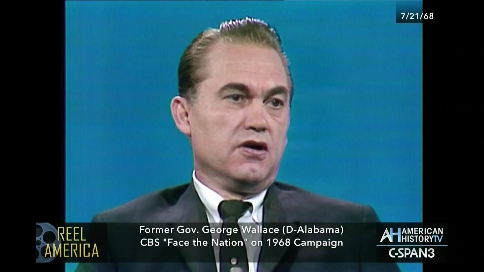 Face the Nation] with George Wallace | C-SPAN.org