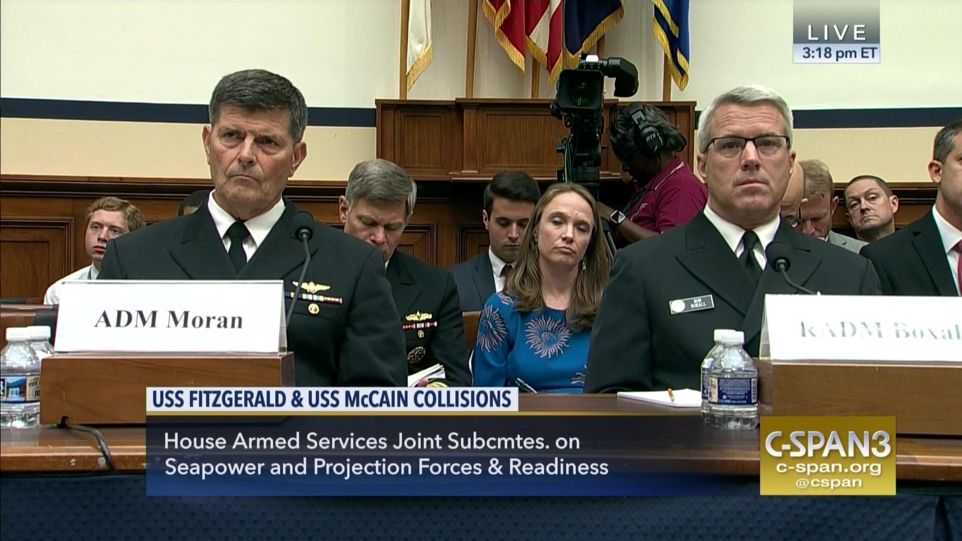 admirals testify naval warship accidents, sep 7 2017 | c-span