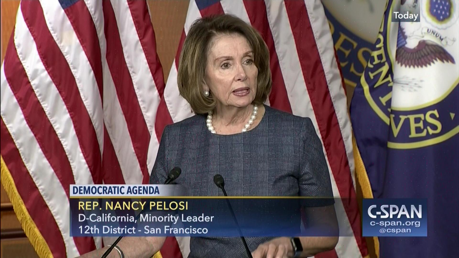 house minority leader pelosi visit border weekend | c-span