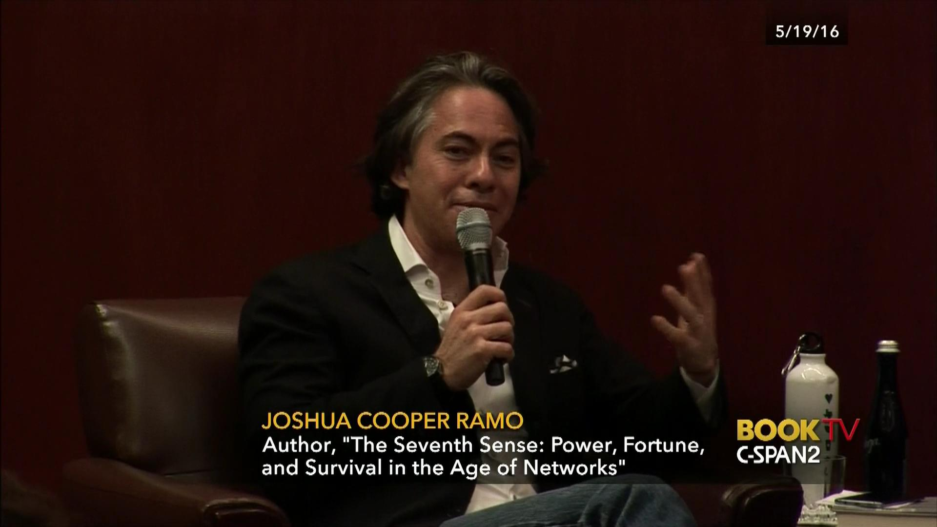 joshua cooper ramo discusses seventh sense video c span org