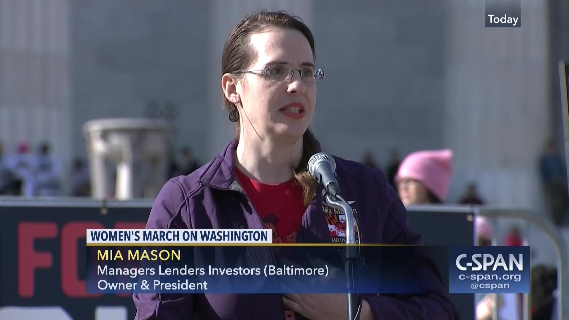 User Clip: Mia Mason | C-SPAN.org
