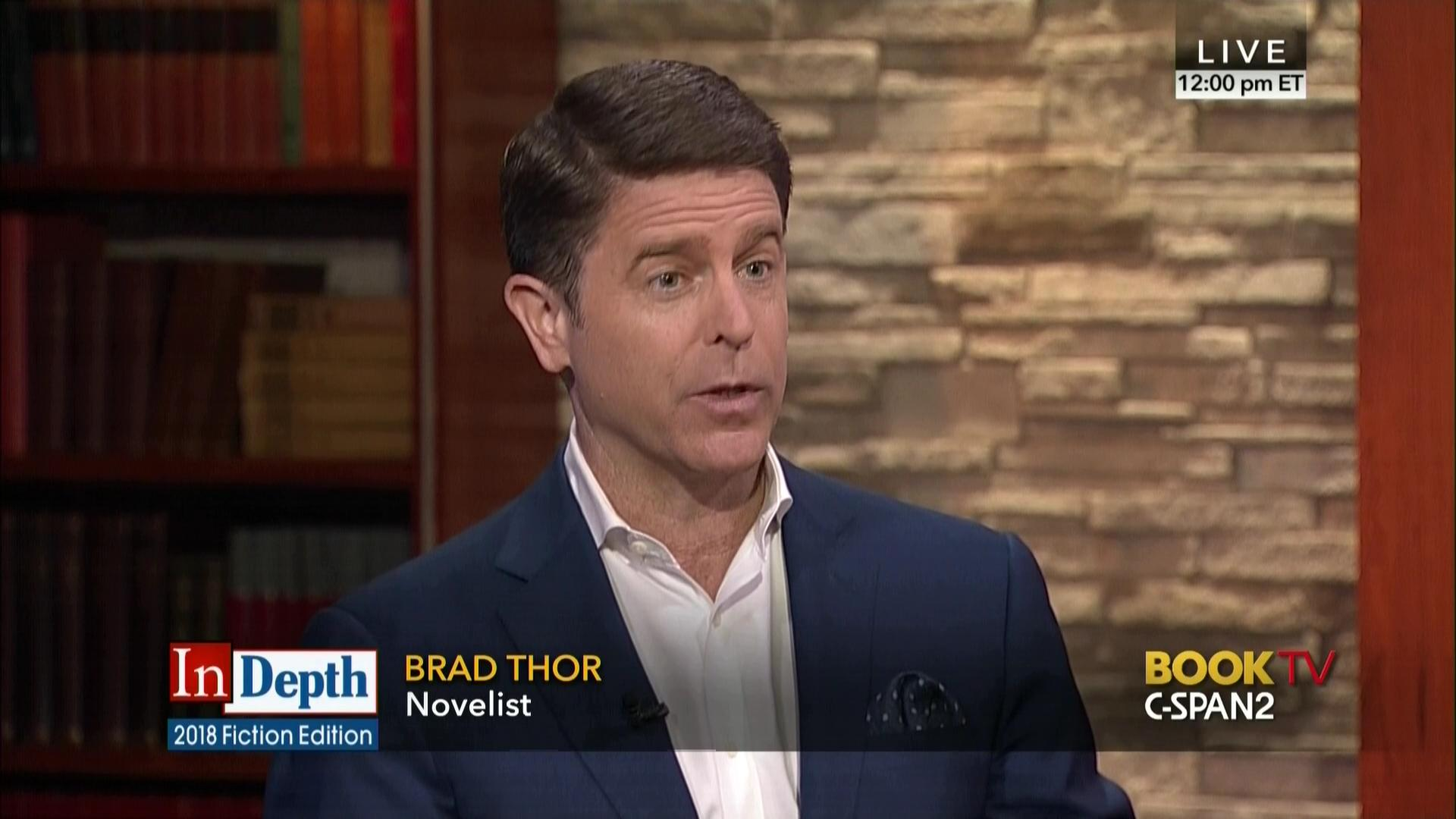 d1bc7f6a64 In Depth with Brad Thor | Video | C-SPAN.org