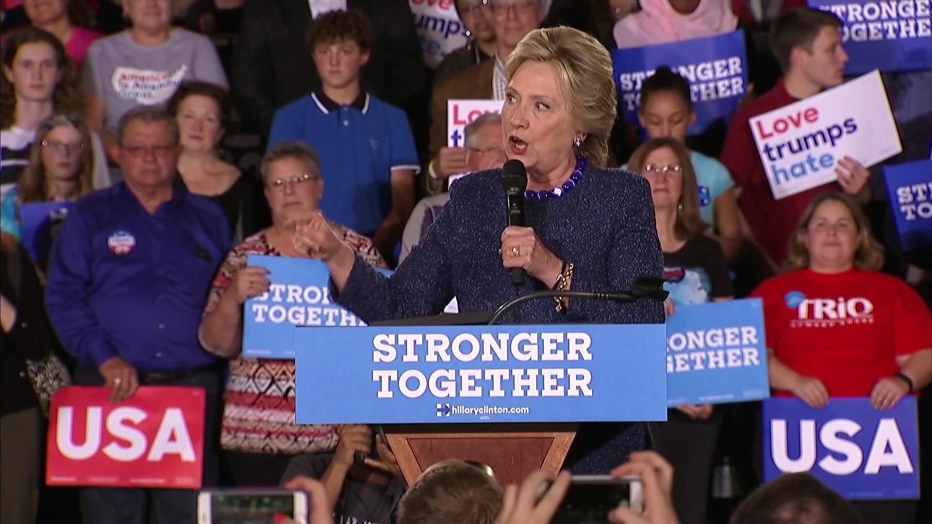 Image result for photos of hillary clinton during campaign season