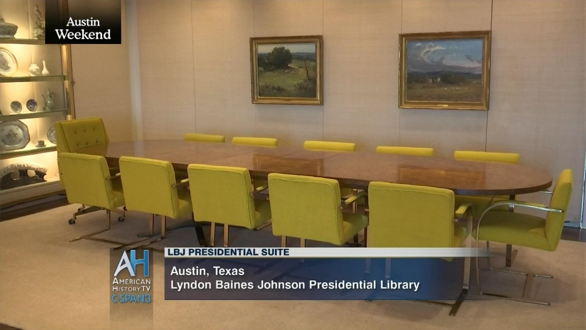 lbjs office president. LBJ Presidential Library Tour Suite, Dec 3 2014 | Video C-SPAN.org Lbjs Office President