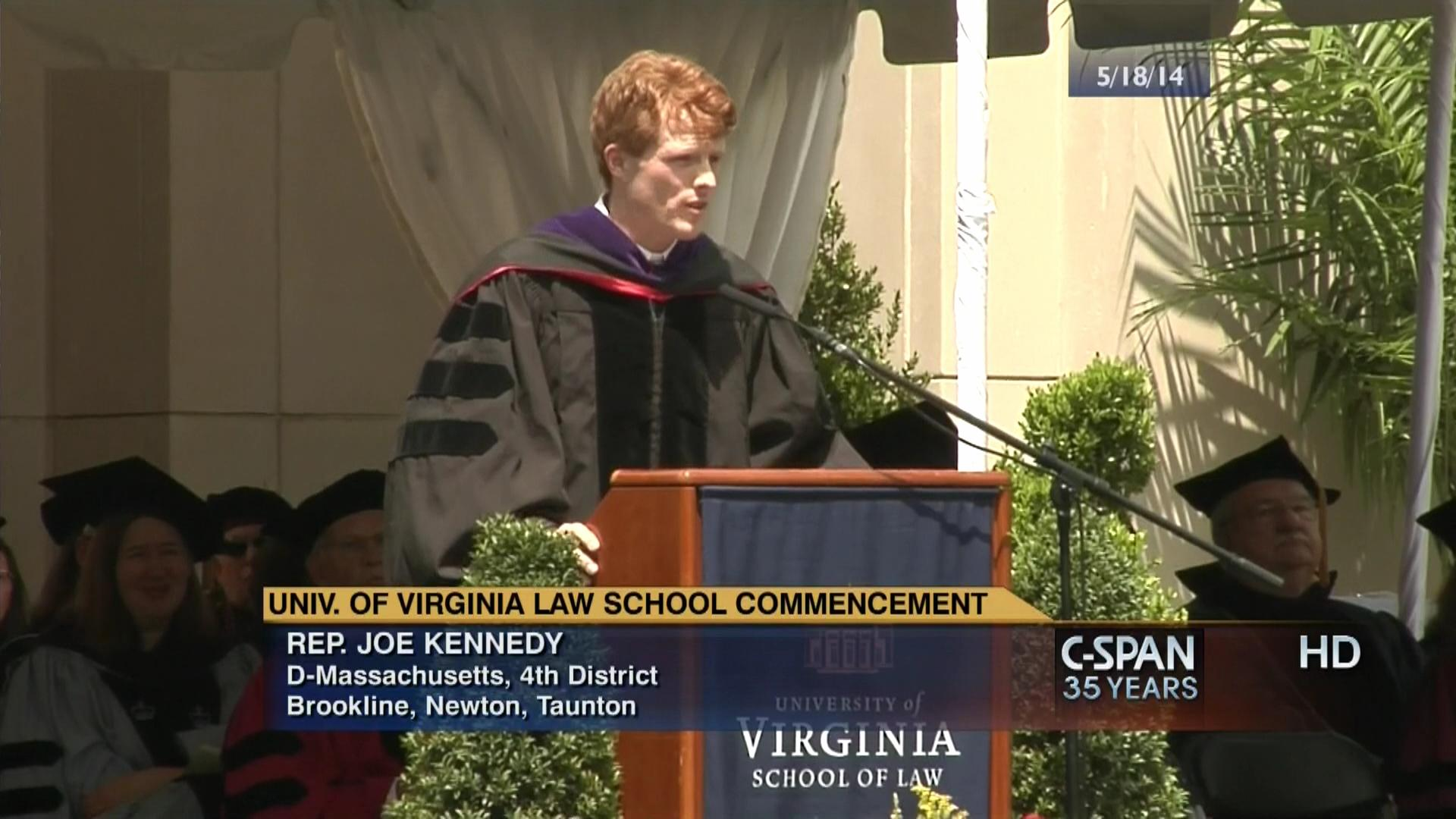 University Of Virginia Law >> University Of Virginia Law School Commencement Address