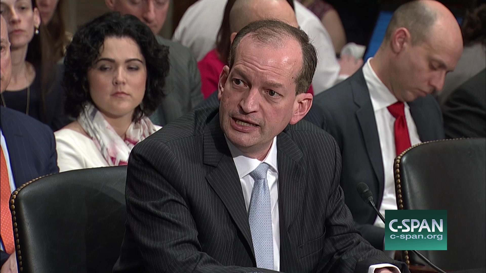Labor Secretary Nominee Outlines Policy Priorities Confirmation ...