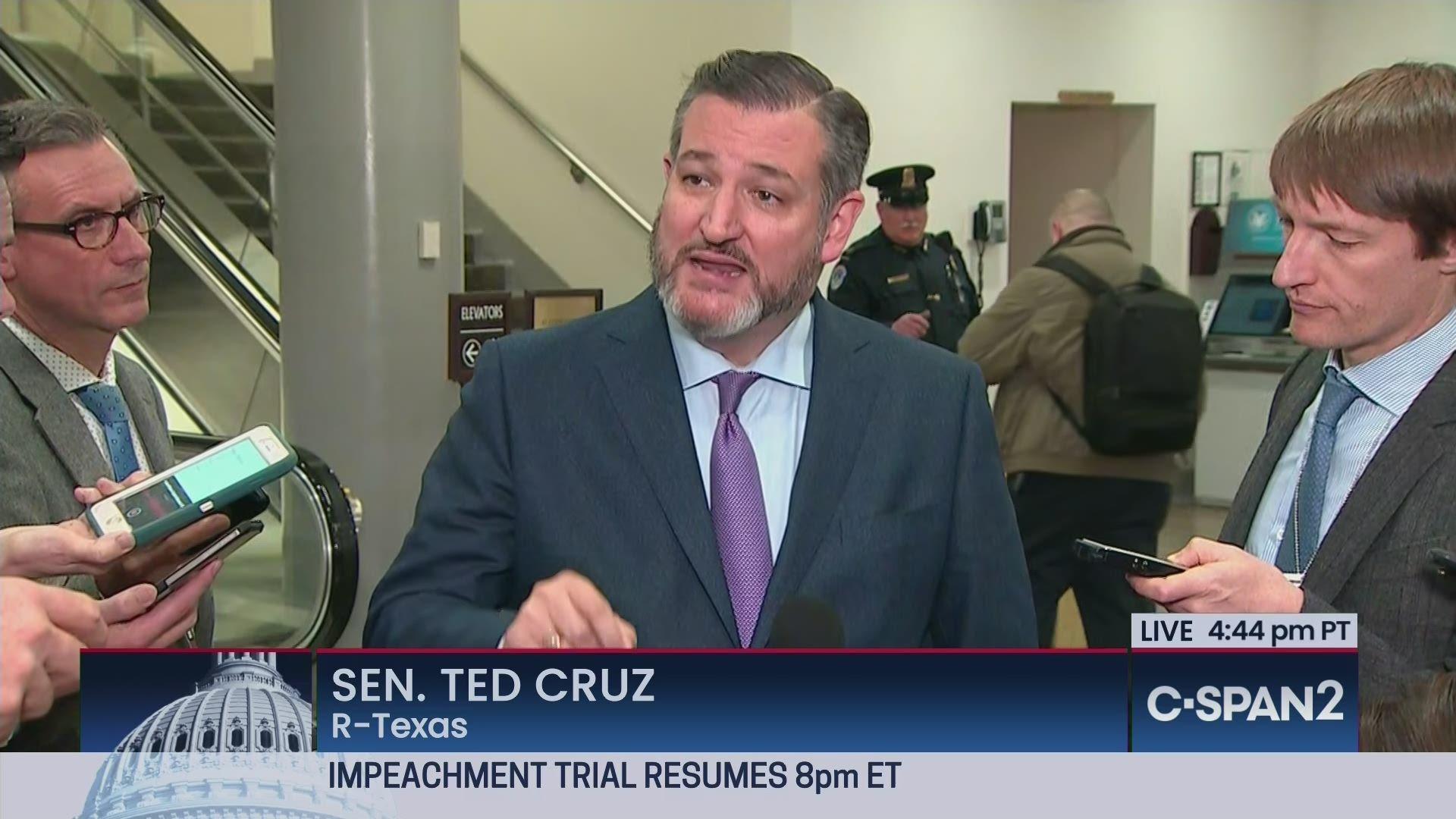 Senator Ted Cruz on Impeachment Trial | C-SPAN.org