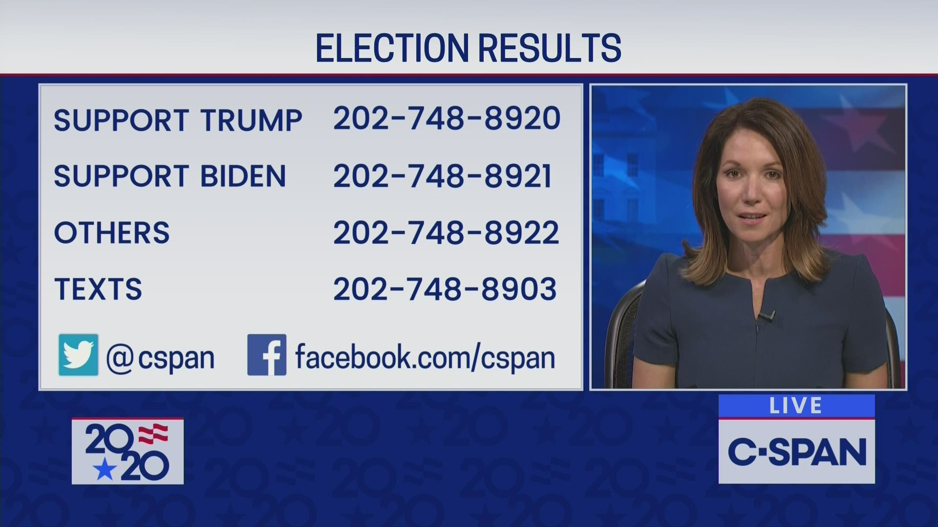 C-SPAN Coverage of Ongoing Election Results | C-SPAN.org