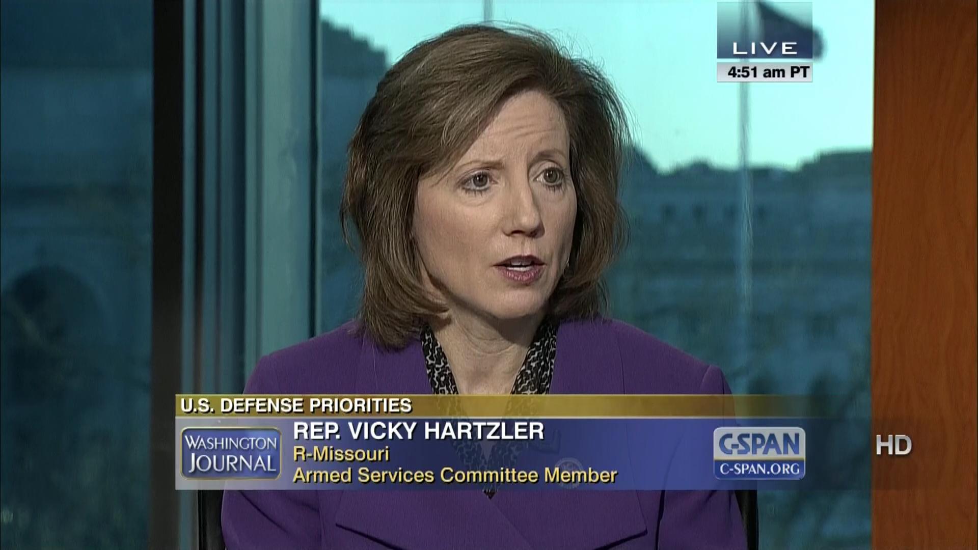 Rep Vicky Hartzler R-MO steps remove Russia G-8 dca60023046c9