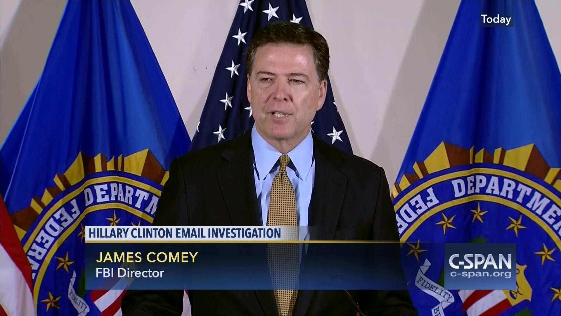 Image result for comey fbi clinton