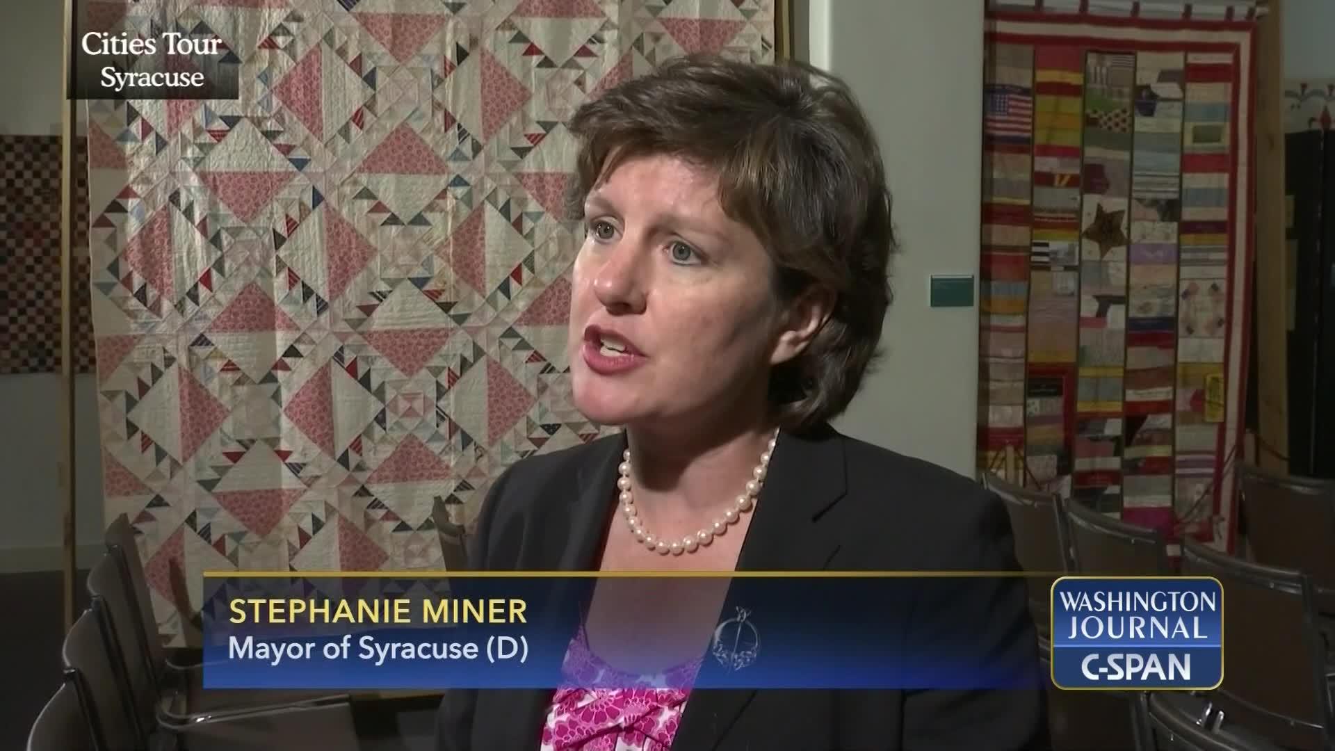 Mayor Miner Syracuse York Sep 23 2015 Video