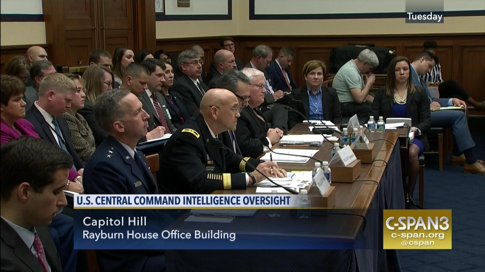 defense officials testify intelligence us operations isis | c-span