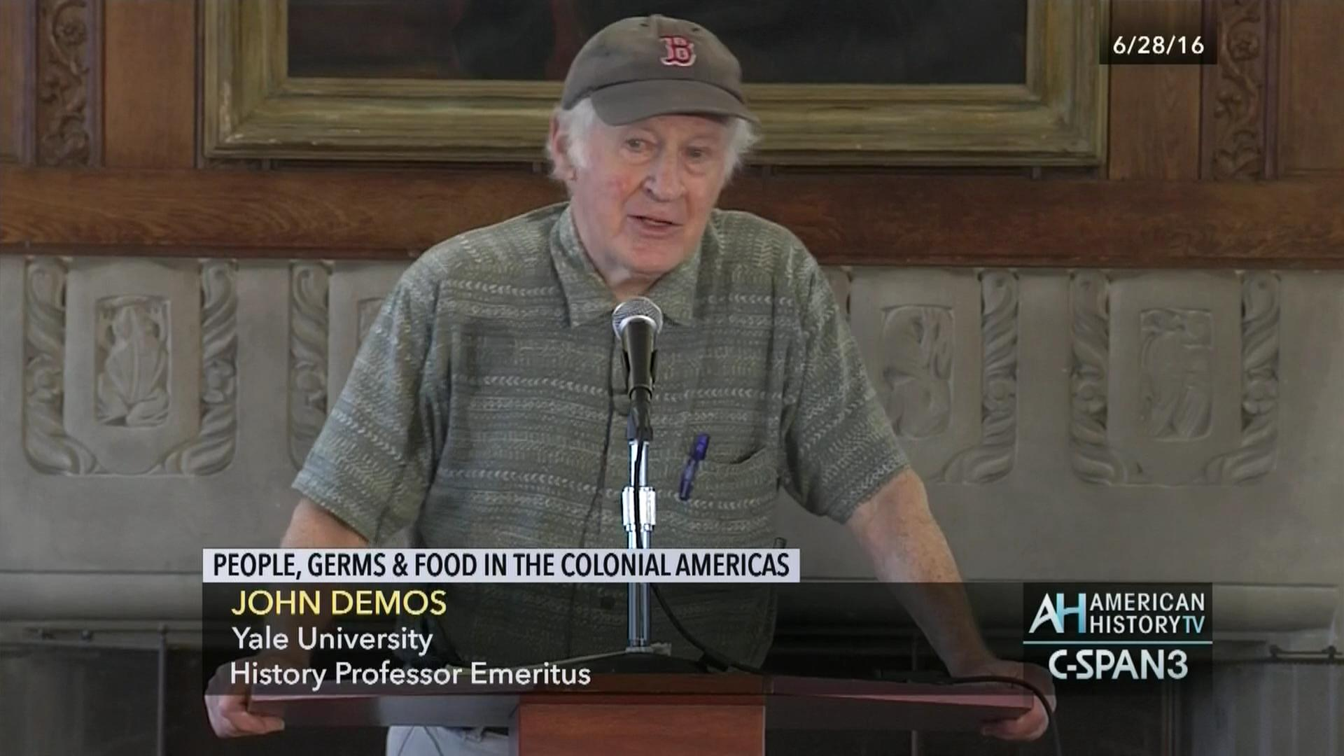 People, Germs, and Food in the Colonial Americas