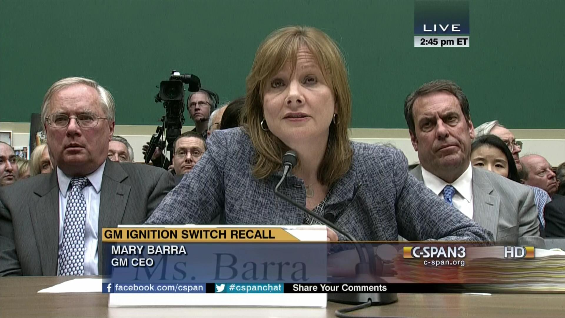 GM Ignition Switch Recall, Apr 1 2014 | Video | C SPAN.org