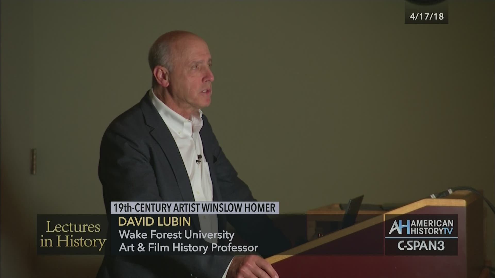 19th Century Artist Winslow Homer Apr 17 2018 Video C Span