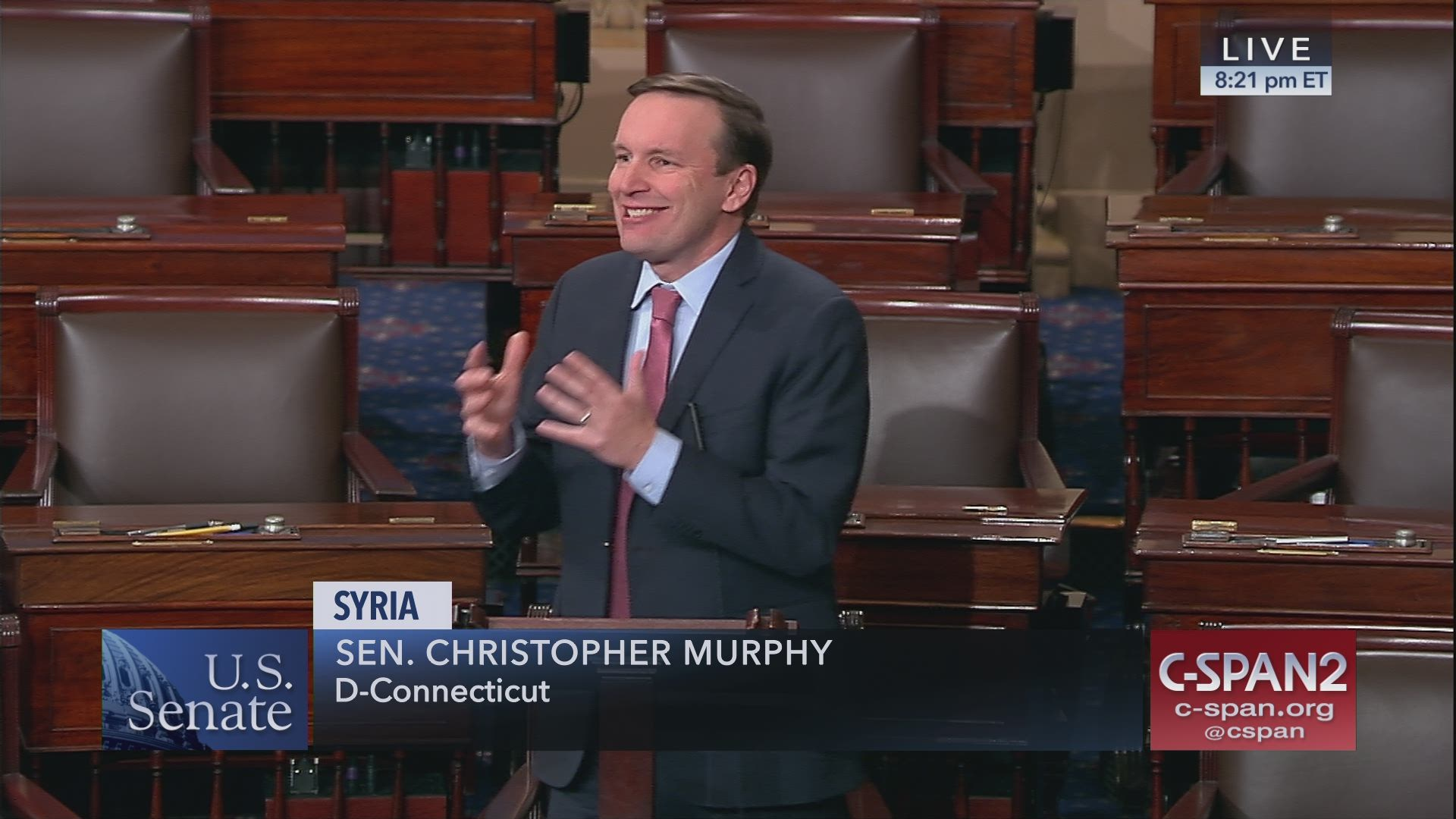 5473320ce6f9 Senator Chris Muphy on Syria withdrawal