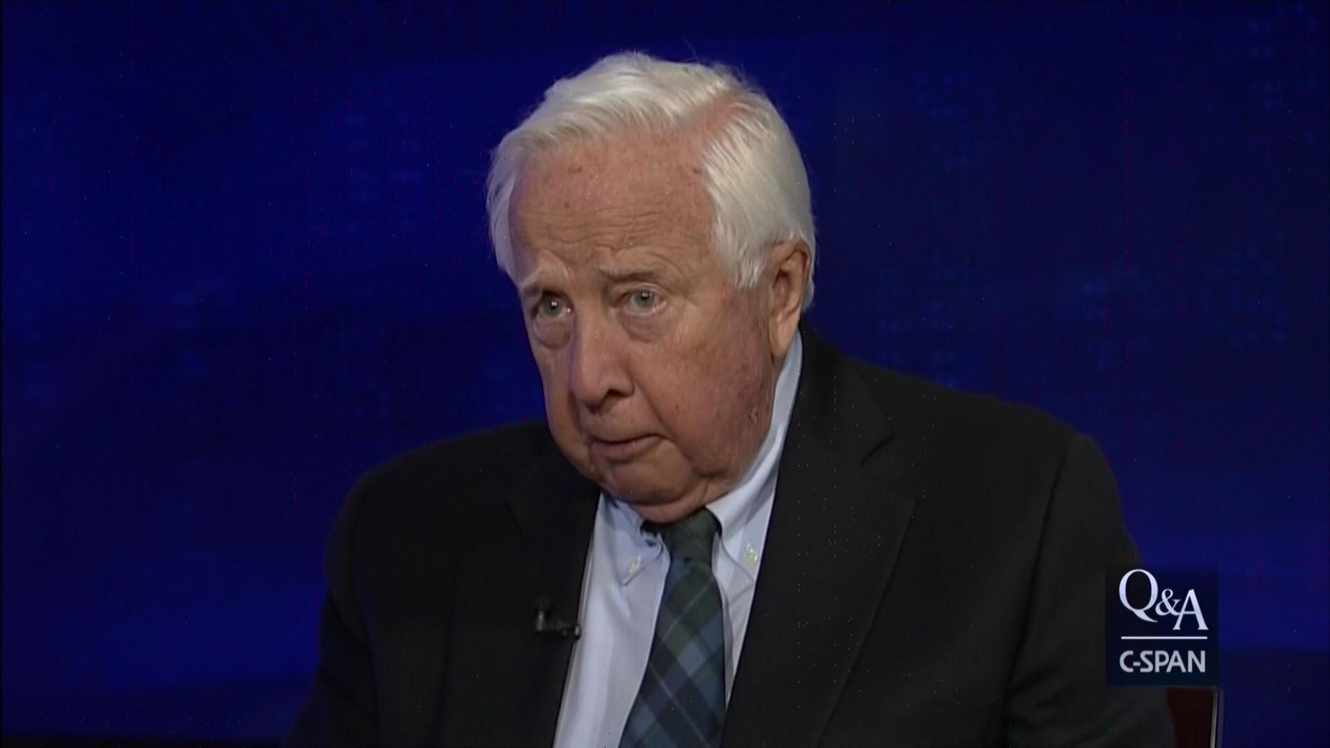 David Mccullough Discusses His New Book Project, The Pioneers