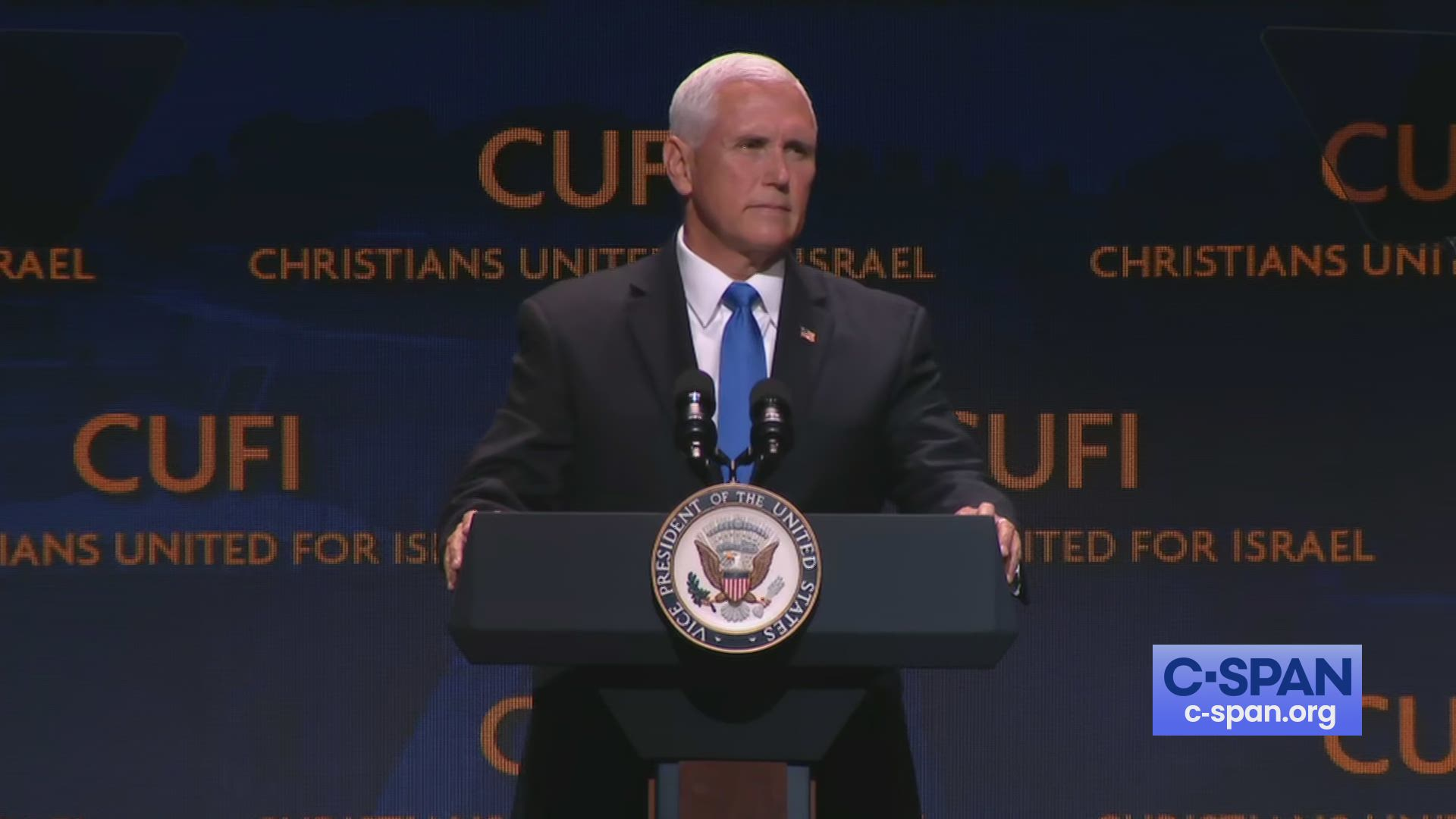 Lawmakers Revive Plan To Curb Restraint >> Vice President Pence Remarks To Christians United For Israel Conference