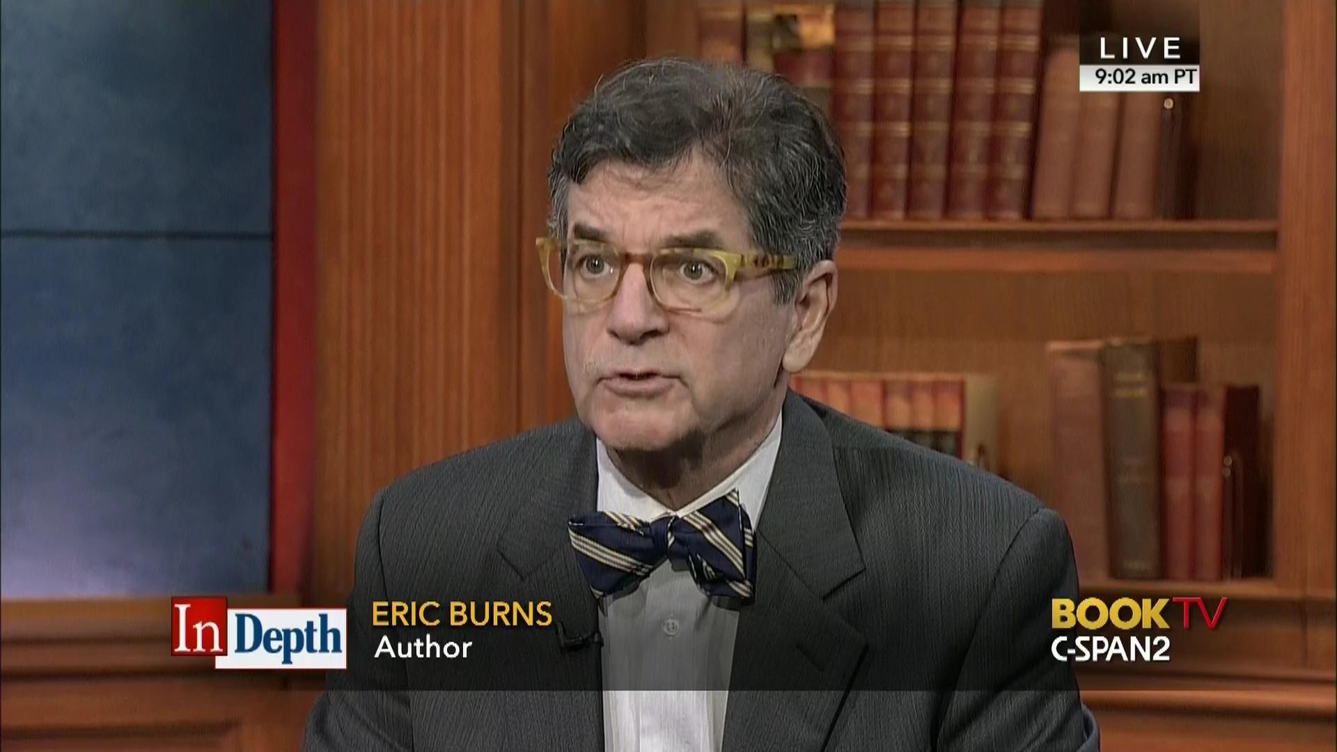 Depth Eric Burns Feb 7 2016 Video C Span