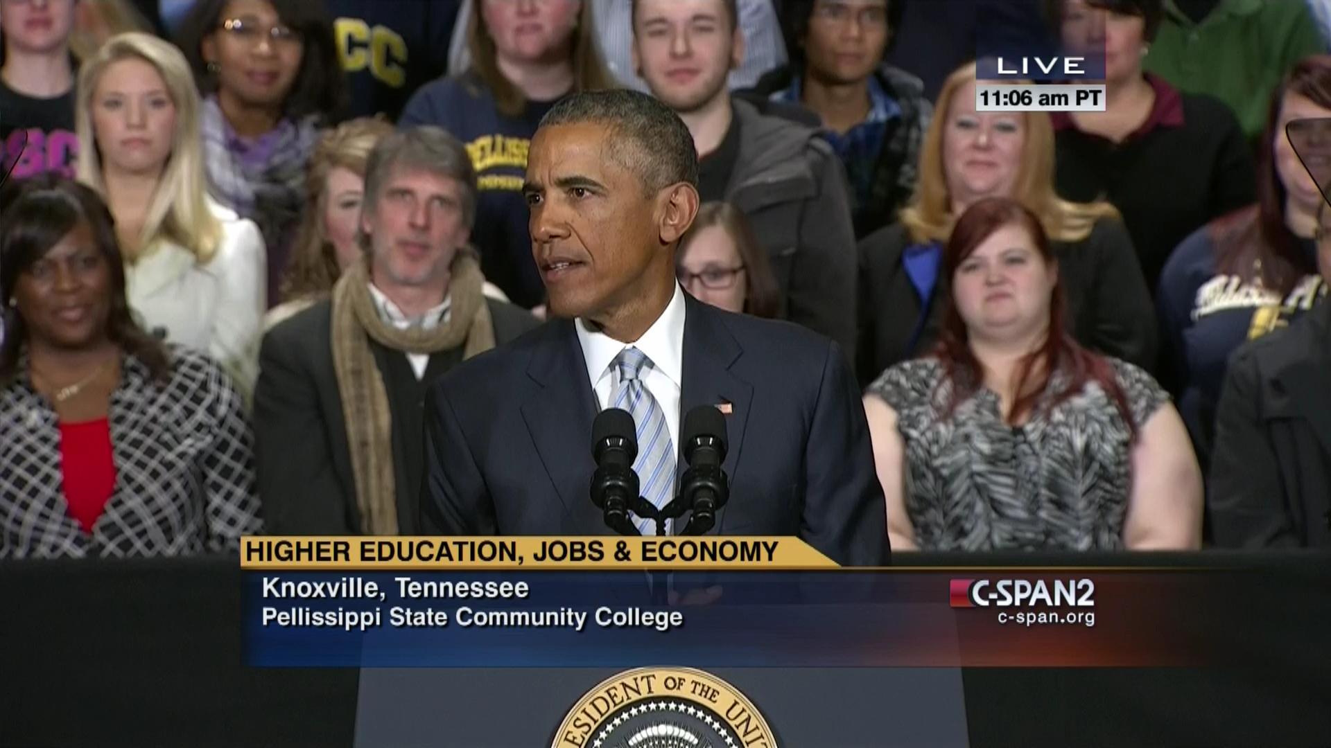 President Obama Vice President Biden Remarks Tennessee | C-SPAN.org