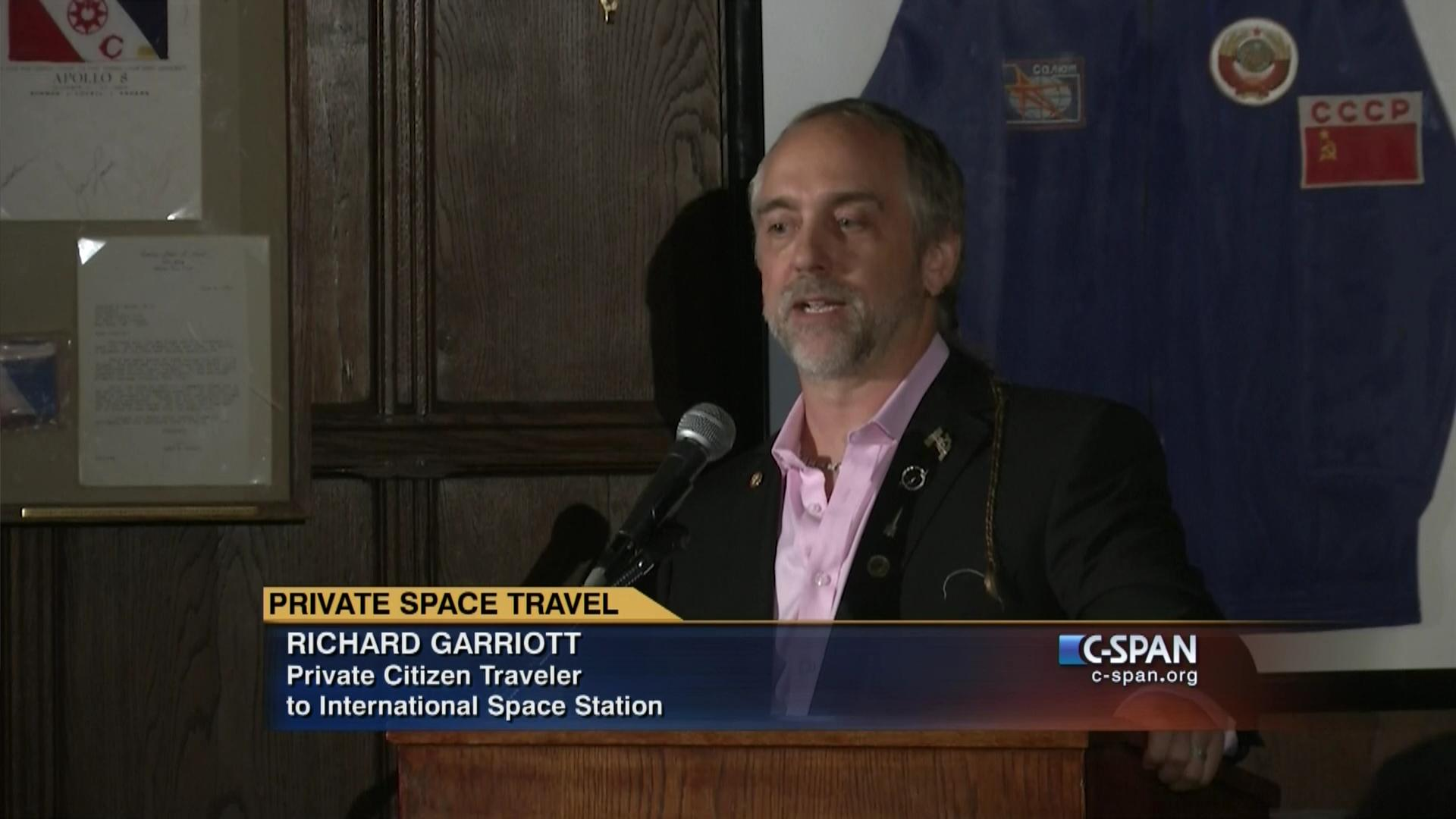 private space travel video c span org
