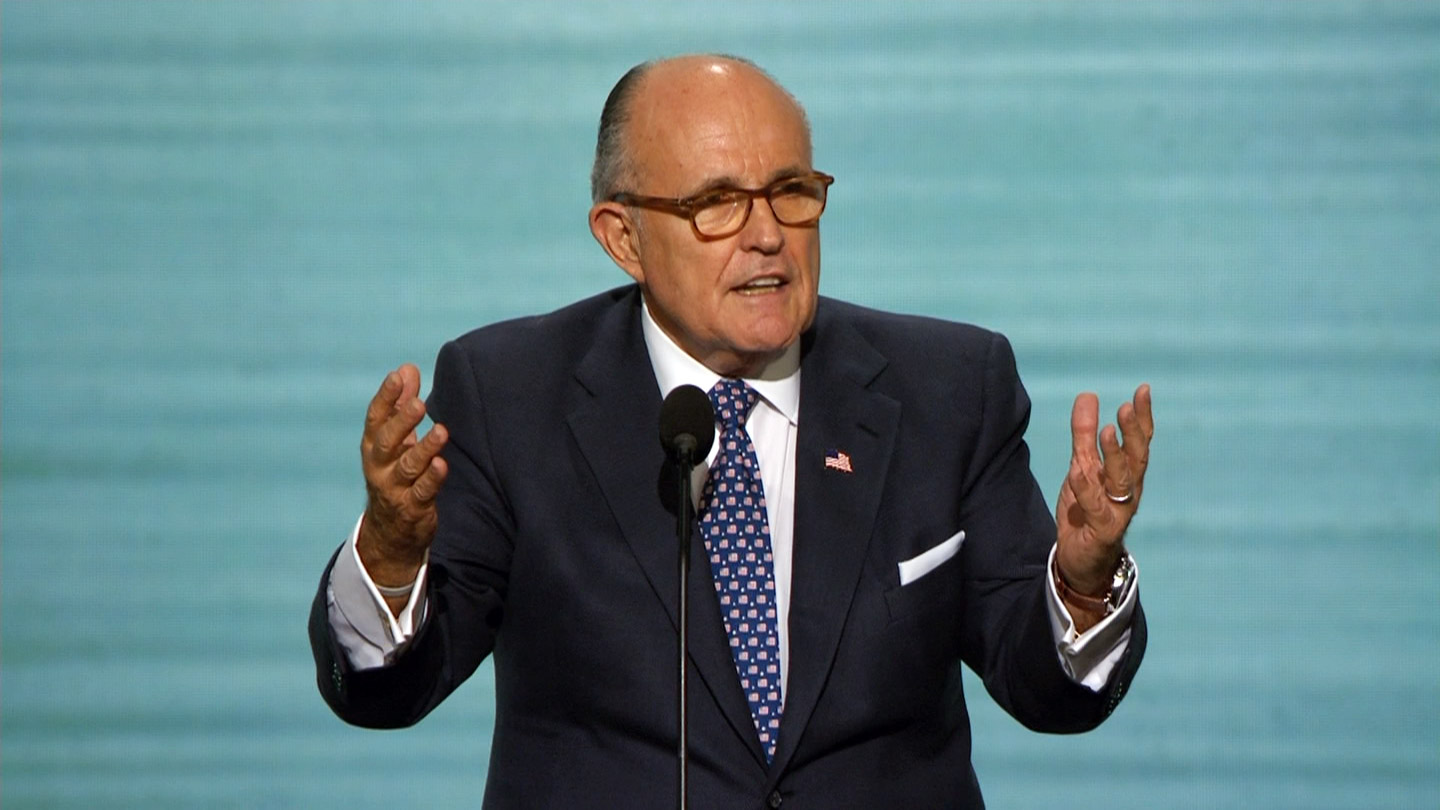 Rudy Guiliani Delivers Remarks At Republican National Convention C Span Org