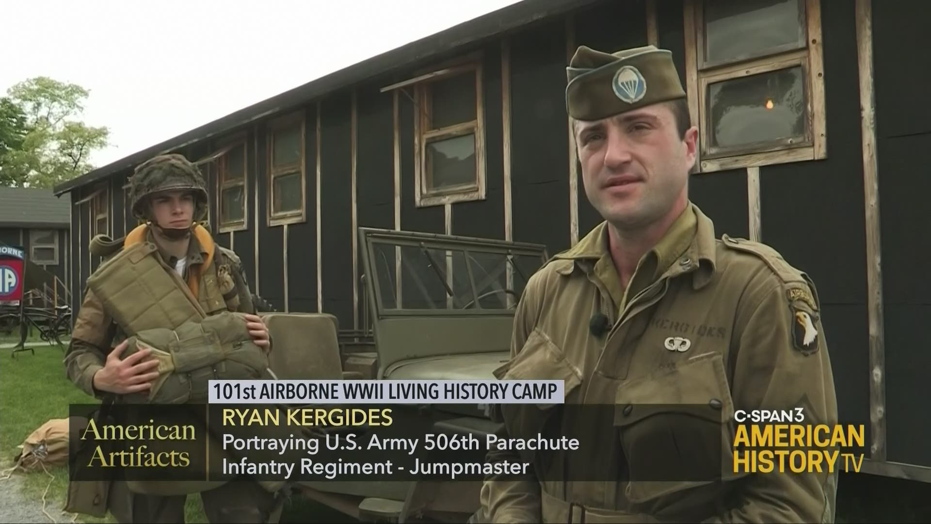 101st Airborne World War Ii Living History Camp C Span Org