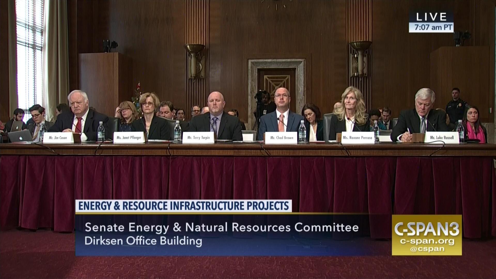 Senate panel examines energy resource infrastructure permitting senate panel examines energy resource infrastructure permitting process sciox Gallery