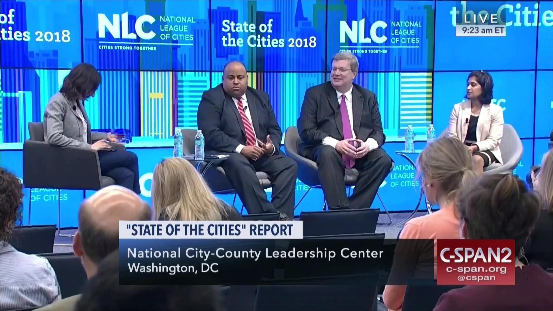 National League Cities Releases Annual Report May 30 2018 Video