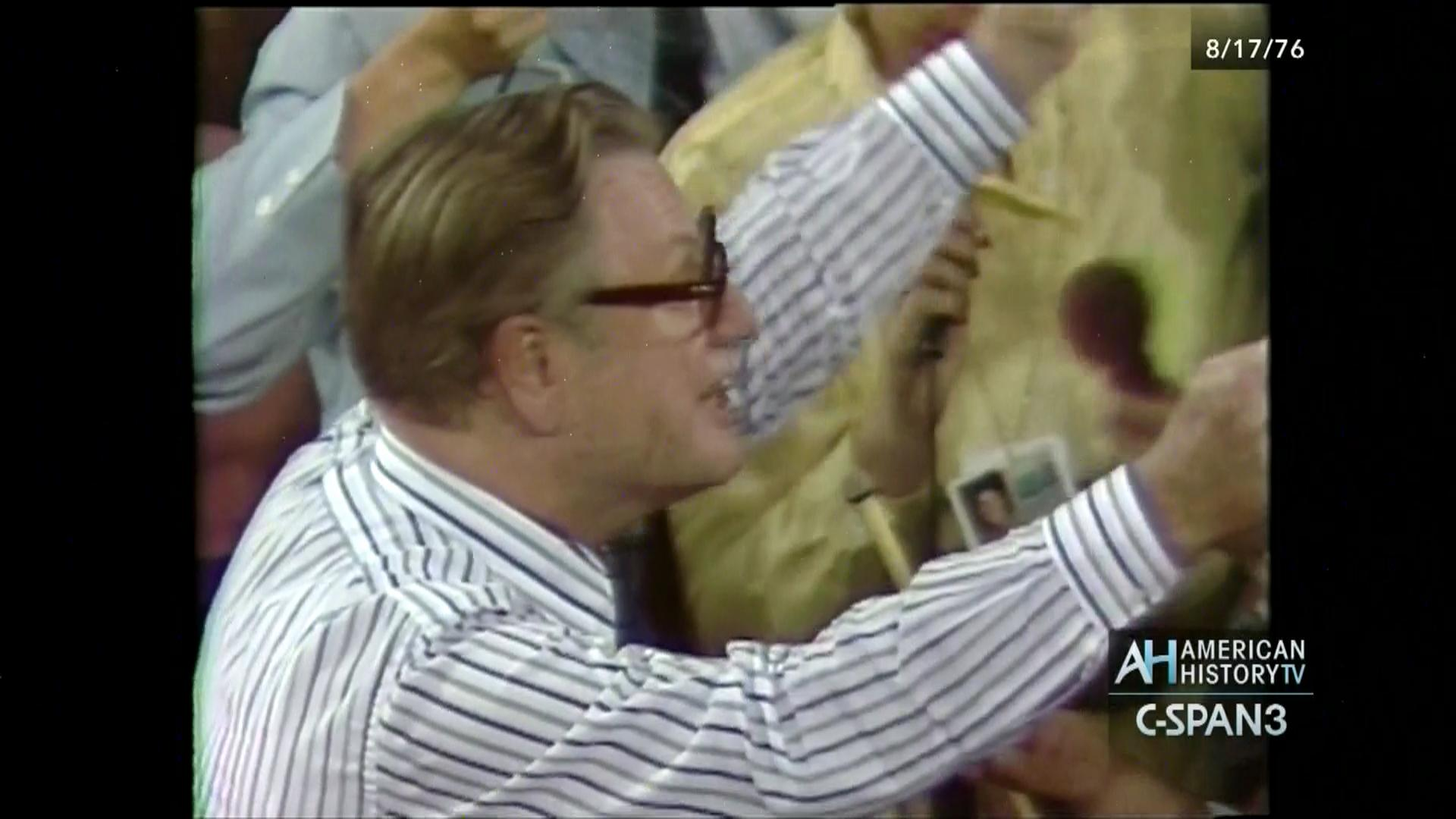 1976 republican national convention, aug 17 1976 | video | c-span
