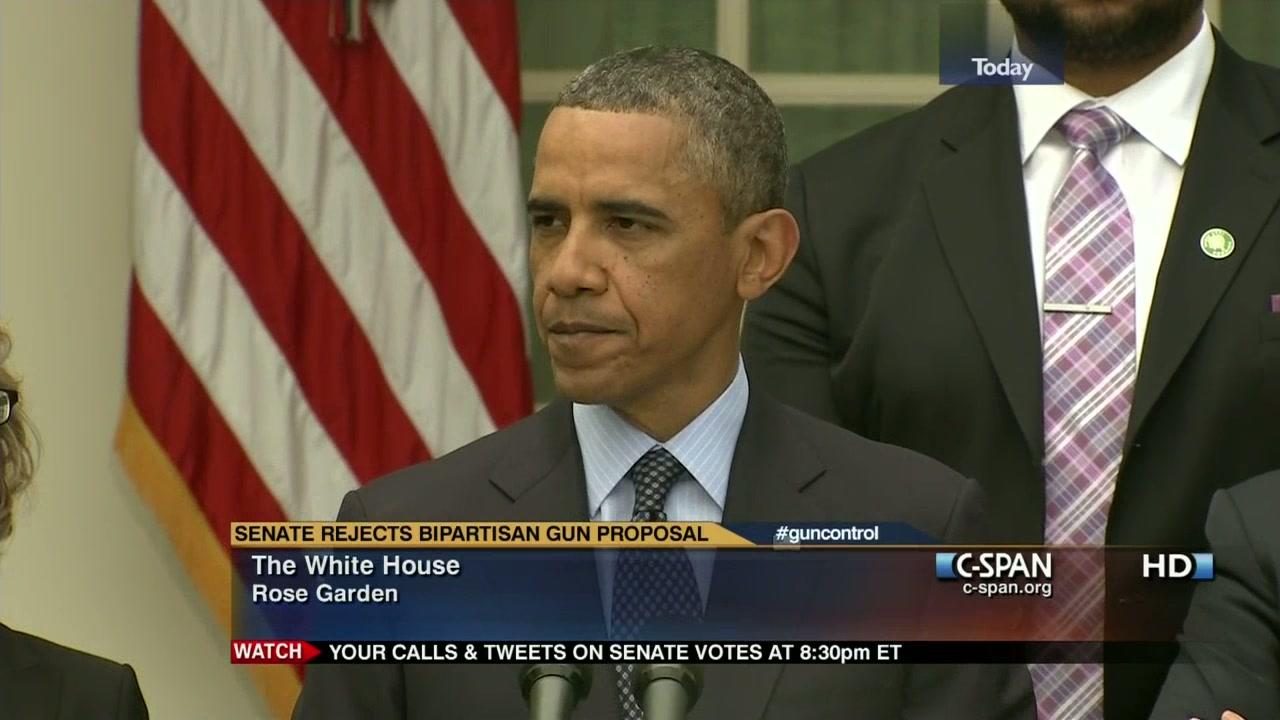 President Obama Shameful Day Washington, Apr 17 2013 | Video | C ...