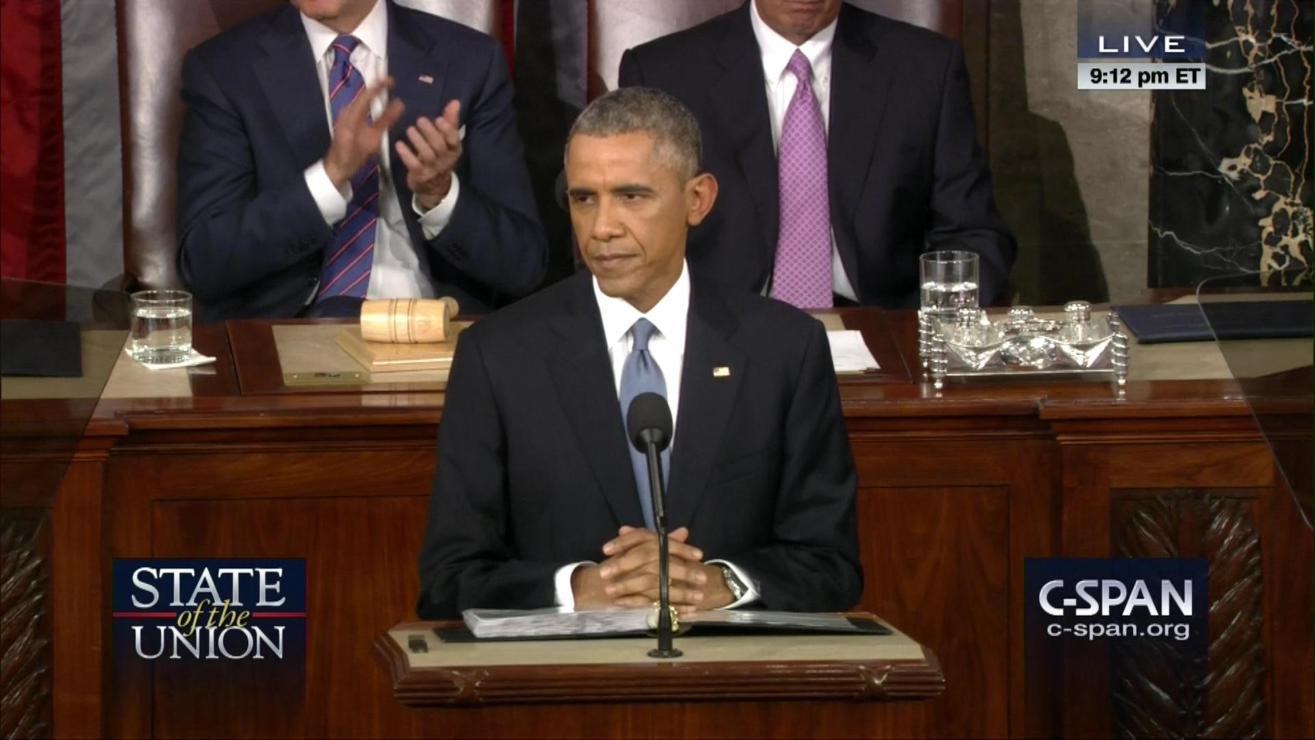 2015 State Of The Union Address