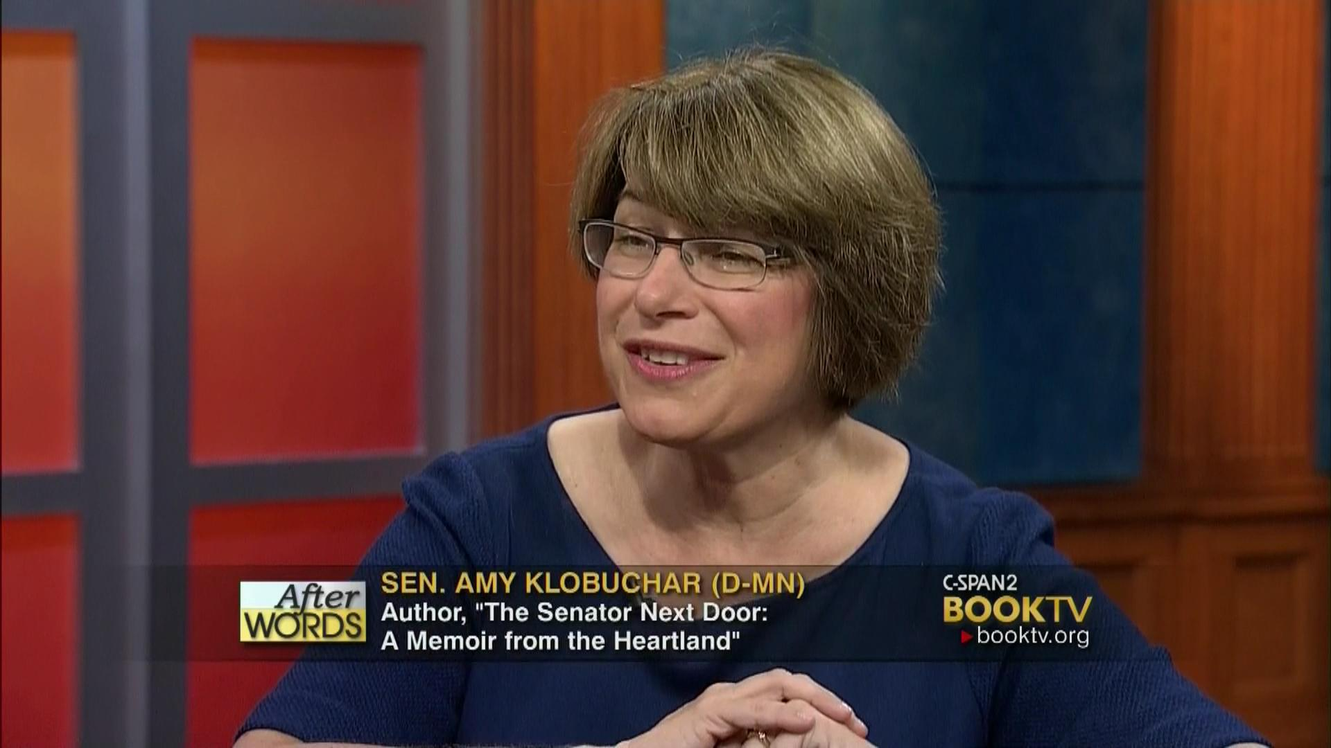After Words with Amy Klobuchar...