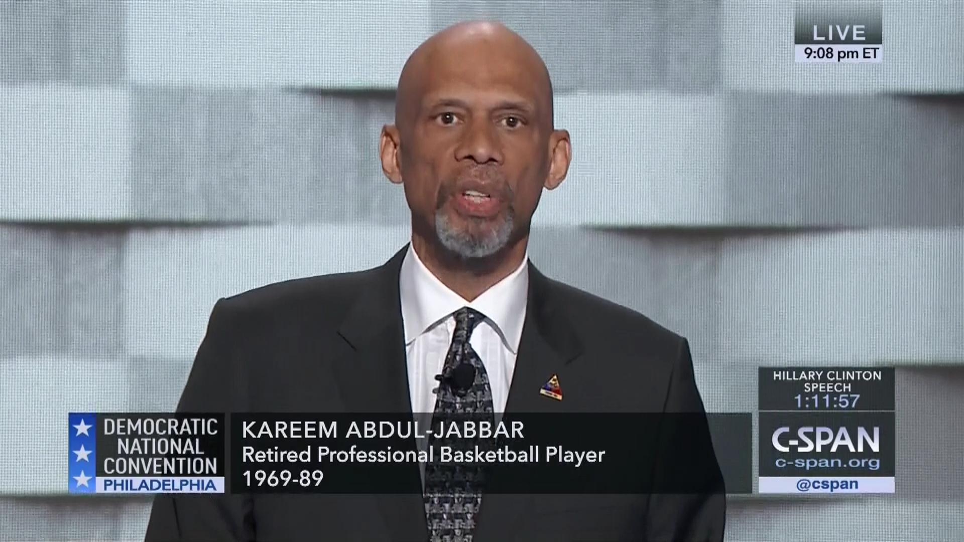 Kareem Abdul-Jabbar | User Clip | C-SPAN.org