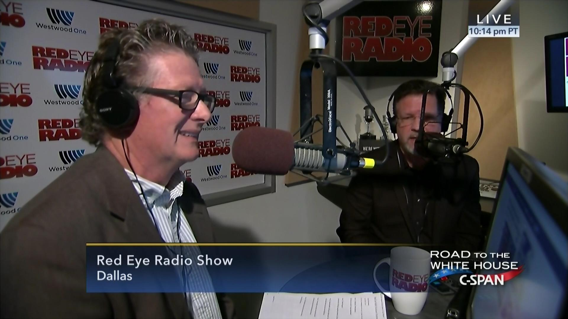 simulcast red eye radio show jan 18 2017 video c span org