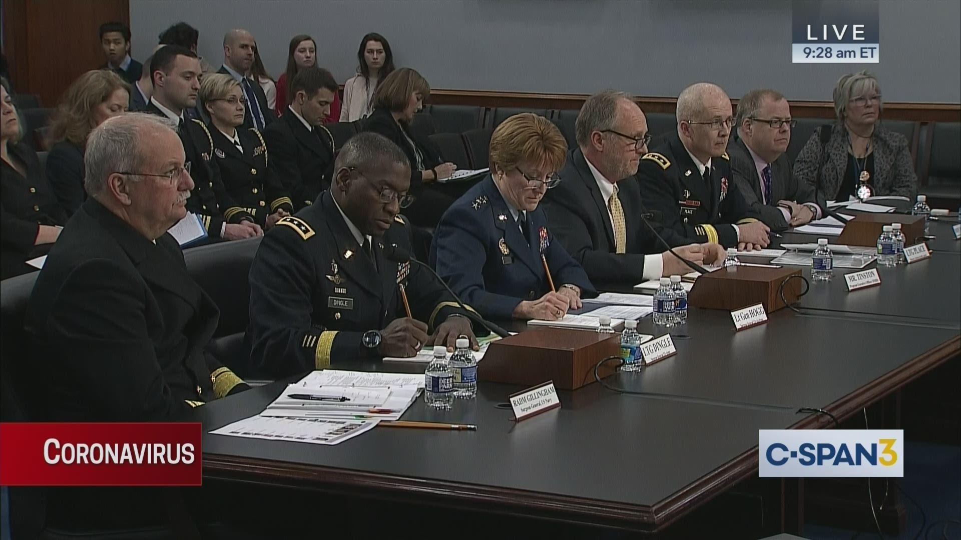 Military Response To Coronavirus Outbreak C Span Org